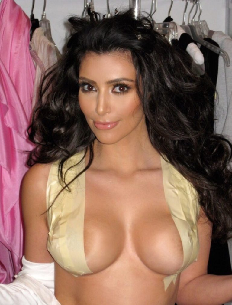 Kim Kardashian Nude Photo Collection